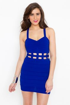 Caged Bandage Dress.....very sexy!