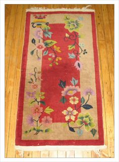 Small 2.1 x 4 Chinese, Deco (#r1462) at JDOrientalRugs.com