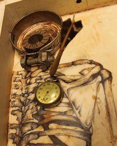 Junk Drawer Series 4 - Kathy Moore Assemblage Artist