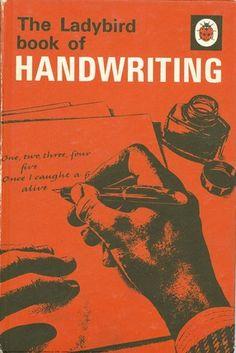 Series 684 Vintage Matt Ladybird Book of Handwriting 1968 2 6 Net Edition Book Cover Design, Book Design, Handwriting Books, Ladybird Books, Vintage School, Penguin Books, Open Book, Vintage Books, Book Series