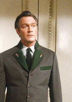 One of my favorite all time movies, The Sound of Music: Christopher Plummer as Captain Von Trapp.