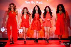 Fifth Harmony-Dinah Jane Hansen, Allyson (Ally) Brooke Hernandez, Lauren Michelle Jauregui, Karla Camila Cabello, and Normani Kordei Hamilton