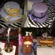 Tortas de 15 años Steampunk / Steampunk cakes