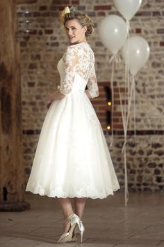 Contemporary Wedding Dresses and Vintage Inspired Bridal Gowns | W235 | True Bride