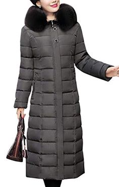bf59f2525659 Women s Quilted Maxi Puffer Coat Winter Padded Parka    You can find out  more details