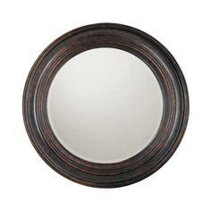 "Capital Lighting M282846 38"" Rounded Mirror Home Decor Mirrors Lighting"