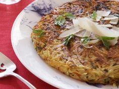 Parmesan Potato Pancake from CookingChannelTV.com