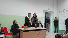 'inaugurazione delle nuove aule dell'Istituto Tecnico Agrario Statale del Comune di Sant'Anatolia di Narco