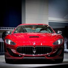 "89.3k Likes, 263 Comments - Maserati (@maserati) on Instagram: ""New Rosso Italiano: The #MaseratiGranTurismo Sport Special Edition with its three-layer paint…"""