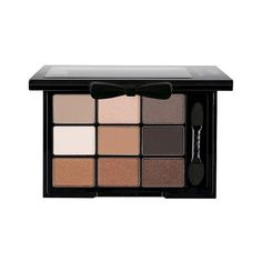 NYX Love In Paris Eye Shadow Palette - Parisian Chic found on Polyvore featuring beauty products, makeup, eye makeup, eyeshadow, eyes, parisian chic, highlighting kit, nyx eye-shadow, nyx and sparkle eyeshadow