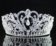 Cheap 2015 recién llegado de Luxuious AB color Crystal Bridal Tiaras moda princesa Crown Silver Wedding la corona de pelo accesorios venta al por mayor, Compro Calidad Joyas para Cabello directamente de los surtidores de China:                              Color de la galjanoplastia:                       Plata plateada/chapado en oro