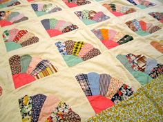 Little Stitch, Grandmothers, Easy Quilts, Fan, Quilt Top, Hand Stitching, Hand Sewing, I Shop, Delicate