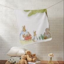Inspired by P.Rabbit/Friends BABY/STROLLER BLANKET