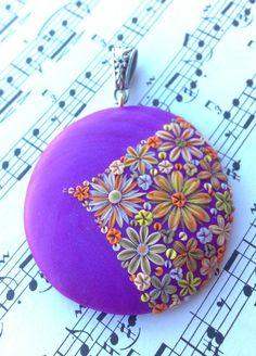 Polymer Clay Purple Dream Pendant by Cherrychestnuts 2019 Polymer Clay Purple Dream Pendant by Cherrychestnuts The post Polymer Clay Purple Dream Pendant by Cherrychestnuts 2019 appeared first on Clay ideas. Polymer Clay Flowers, Polymer Clay Necklace, Polymer Clay Pendant, Fimo Clay, Polymer Clay Projects, Polymer Clay Creations, Polymer Clay Beads, Fimo Ideas, Clay Ideas