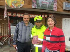 Police Officer accepts Christ in Colombia! Police Officer, Christ, Trips, Bible, God, Colombia, Traveling, Biblia, Travel