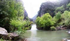 Lebanon, Nahr Irbahim, Dam for Chouwwen Lake