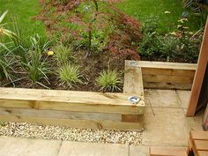 Raised Garden Border Ideas sleepers path edging courtyard ideas pinterest path edging garden projects and gardens Find This Pin And More On Gardening Raised Bed Border Idea