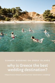 If you were stuck in the hunt for the perfect wedding destination, then you should consider one of the beautiful islands in Greece. The place is beautiful, the food is amazing, the locals are friendly, the environment is picturesque and there are weddings for all budgets. Summer Wedding Destinations, Greece Destinations, Honeymoon Destinations, Greek Culture, Destination Wedding Photographer, Destination Weddings, Greece Wedding, Greece Islands, Beautiful Islands