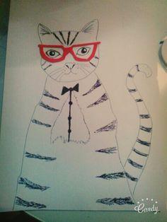 My art KITTY!!!!
