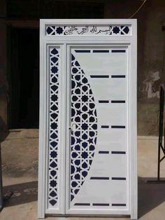 Wooden Front Door Design, Door And Window Design, Front Gate Design, House Gate Design, Door Gate Design, Room Door Design, Door Design Interior, Main Door Design, Steel Gate Design