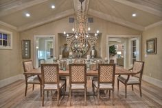 1512 Dolphin Terrace (night shots) - traditional - dining room - los angeles - by Spinnaker Development