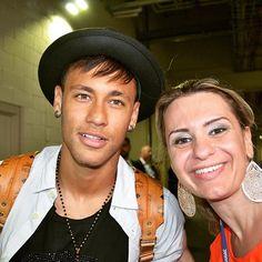 Neymar nach dem Spiel BrasilxUSA (09.09.2015) #Repost #instagram @jorcamarg ・・・  His name is Neymar Jr. and he's THE GUY! #brazilxusa #globointernacional #gillettestadium #news #press @neymarjr...