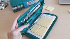 Filofax Saffiano Compact ZIP Organiser/Agenda Aquamarine - YouTube Zip Wallet, Zip Around Wallet, Scuba Travel, Mini Binder, Binder Organization, Hobonichi, Travelers Notebook, Filofax, Compact