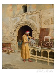 The Furniture Maker Giclee Print by Ludwig Deutsch at AllPosters.com