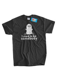Halloween T-Shirt Ghost Tshirt I Used To Be by IceCreamTees
