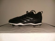 0de0b863e Adidas Power Alley 5 Men s Baseball Cleats B39181 - Black