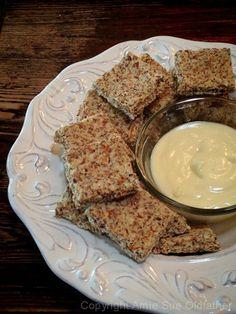 Raw Cardamom, Orange and Hazelnut Cracker with Orange Butter Spread
