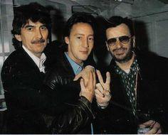 George, Julian, Ringo
