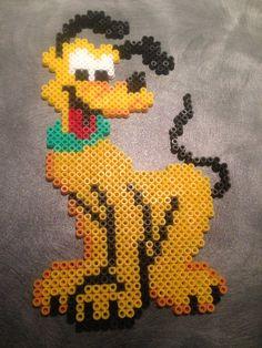 Pluto - micky mouse - hama beads - hama perler