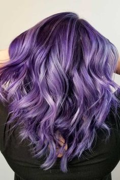 33 Cool Ideas of Purple Ombre Hair Here you will find a list of 33 photos with bold purple ombre hairstyles inducing lavender, pink and stunning purple ombre hair colors. Go for a fun and brave new look this summer!http://glaminati.com/cool-ideas-purple-ombre-hair/