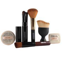 10Pc Professional Makeup Brush Set