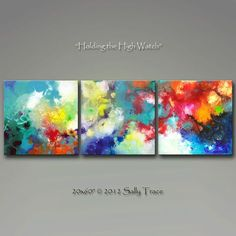 Stretched Canvas prints from my original by SallyTraceFineArt
