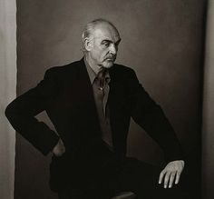 Sir Sean by Annie Leibovitz (1993). Part of a Scottish exhibition of her work and presented as a gift to Scotland.