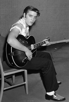 Elvis Presley, my absolute favorite singer. I grew up on Elvis and I've been to Graceland three times!