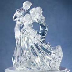 Wilton Bianca - Clear Acrylic - Wedding Topper