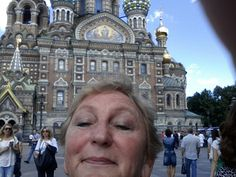 Silly selfie. Looks a bit like an ornate Russian headdress at this angle.