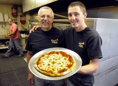 Pizza pies Made in MT. Gotta love how - in most cases -  it's such a family affair.