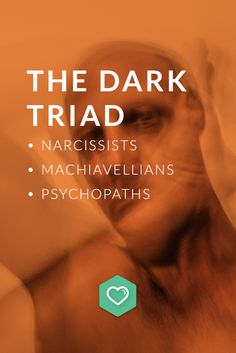 The dark triad personality disorder consists of qualities from narcissism, Machiavellianism, and psychopathy. A narcissist lacks empathy, a Machiavellian is manipulative, and a psychopath is remorseless.