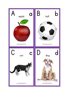 Looking for Free Printable Alphabet Flash Cards (ABC Flash Cards, Letter Flashcards) for kids? Check these Alphabet Flash Cards having alphabet/letters with pictures which are great to teach alphabets to your child. Free Printable Alphabet Letters, Letter Flashcards, Free Printable Flash Cards, Alphabet Cards, Alphabet Writing, Abc For Kids, Alphabet For Kids, Preschool Alphabet, Preschool Printables