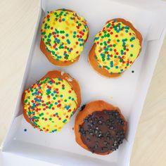 The Sweetest of Birthdays - Krispy Kreme Cake Batter Doughnuts - Her Heartland Soul