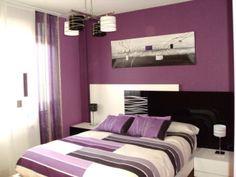 dormitorios en color morado   inspiración de diseño de interiores