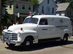 us Neptune,NJ Hamilton First Aid Squad Chevrolet Ambulance Police Truck, Police Cars, Station Wagon, 4x4, Flower Car, Automobile, Rescue Vehicles, Panel Truck, Unique Cars