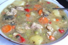 The Healthy Happy Wife: Hearty Chicken Stew (Dairy and Gluten/Grain Free)