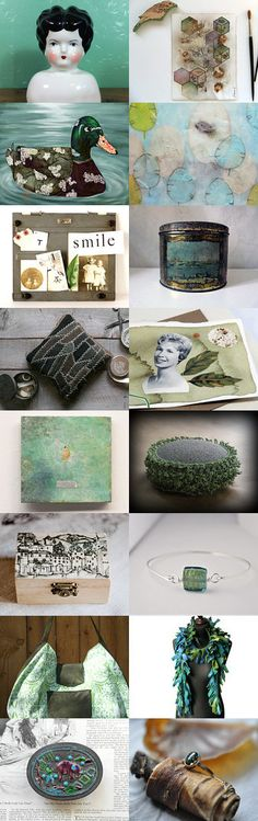 Little Treasury by 3buu on Etsy--Pinned+with+TreasuryPin.com