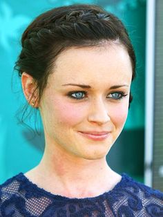 Alexis bledel...so gorgeous...and she is forever in my mind as rory from Gilmore girls!!!!