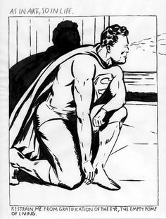 Raymond Pettibon As in Art, So in Life - Raymond Pettibone Raymond Pettibon, Drawing Sketches, Drawings, India Ink, Art Archive, Famous Artists, Art Blog, Art Pictures, Fashion Art